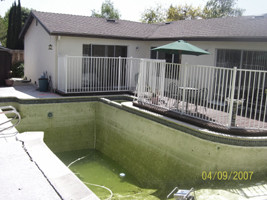 Fill in your pool today with our Campbell contractors